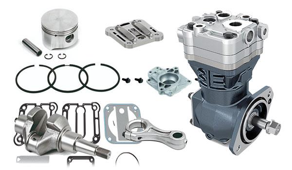 Ремонт компрессора грузовых автомобилей